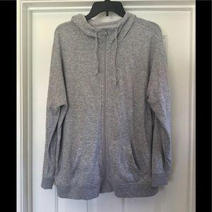 Gray lightweight jacket